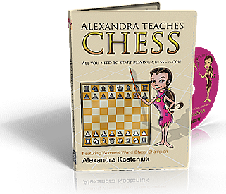 "Chess Software for Kids ""Alexandra Teaches Chess"" (PC & Mac versions)"