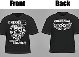 Chess King T-shirts