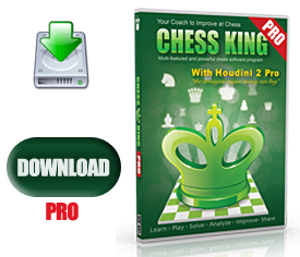 Chess King Pro with Houdini 2 Pro Download Version