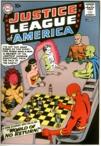 Justice League of America chess game