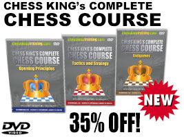 Complete Chess Course Combo 3 DVD