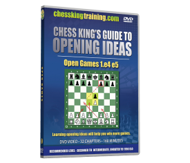 Chess King's Guide to Opening Ideas Disk 1 Open Games 1.e4 e5