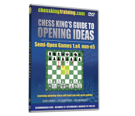Chess King's Guide to Opening Ideas Disk 2 Semi-Open Games 1.e4 non-e5
