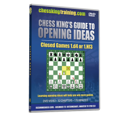 Chess King's Guide to Opening Ideas Disk 3 Closed Games 1.d4 and others