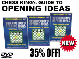 Chess Opening Ideas 3 DVD Combo