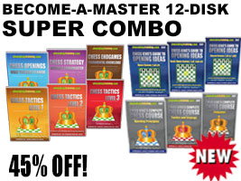 Become a Master 12-Disk Chess King Training Super Combo