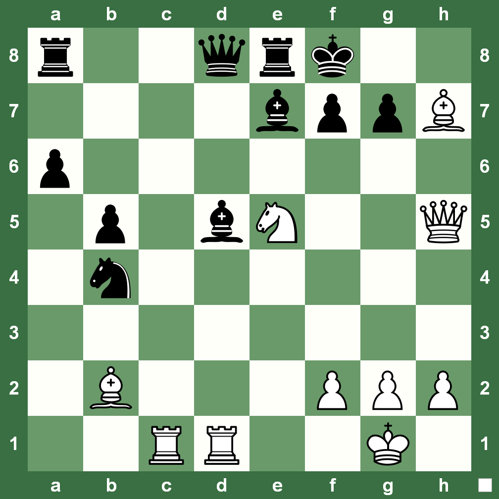 Chesskingcom Puzzles Chess Checkmate Diagram Puzzle From The Here Is A Refreshing To Begin 2013 With In Three Not Difficult Just Think Step By White Play And