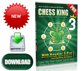Chess King 3 Pro with Houdini 3 Pro Download (new June 2013)