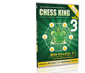 Chess King 3 with Houdini 3