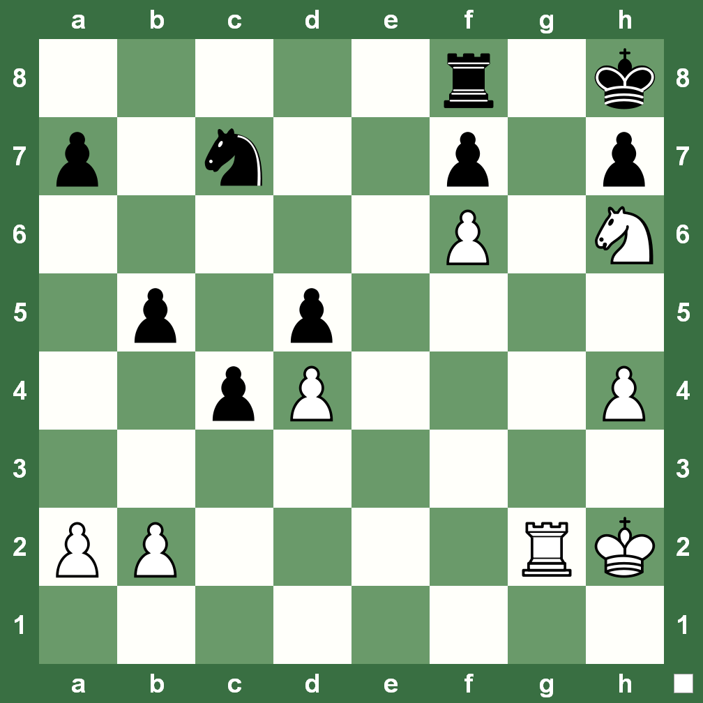 Chesskingcom Chess Checkmate Diagram Puzzle From The Finding A In Two On Board During Game Top Tournament Is Delight Itself Here That Came Gm Almira