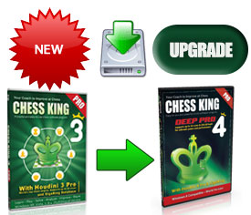 Upgrade from Chess King 3 Pro to Chess King 4 Pro with Houdini 4 Pro Download (new for 2014)