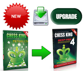 Upgrade from Chess King 1 Pro to Chess King 4 Pro with Houdini 4 Pro Download (new for 2014)
